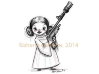 My Little Princess Leia