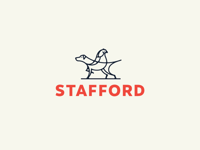 Bird dog dog bird brand identity logo