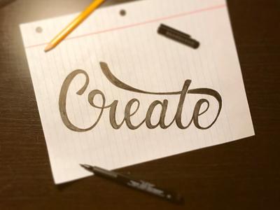 Create lettering