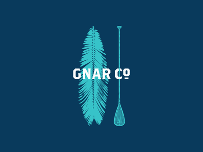 Gnar Co. Cabo palm mexico surf board paddle