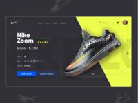 Nike Web App Redesign Challenge