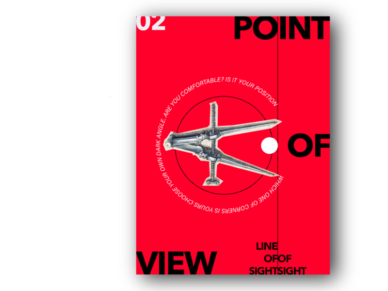 Point of view social choice concept flyer circle eye view graphics graphicdesign posterdesign poster art poster plakat web polygraphy typogaphy illustration