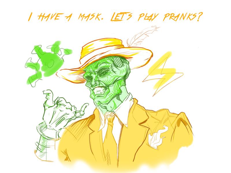 Mask protect comic man covid19 covid coronavirus mask draw drawing painted sketch character art illustration
