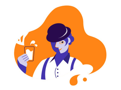 clockwork orange juice design illustration vector art character orange clockwork clockwork orange