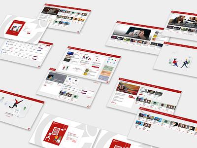 Collaborate Search hr software web design ux ui