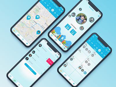 Swizle ui uidesign uiux uxdesign time management meetups calendar ui mobile app design social app ios app ios app design app ux