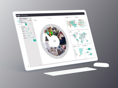 Desktop application for AI powered Data Analysis Tool data analysis data data visualization desktop application desktop design desktop app ai