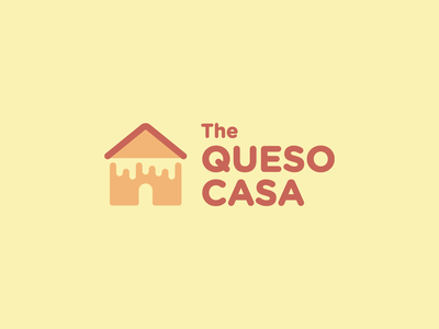 ¡Mi Queso es su Queso! cheesy yellow logo icon cheese queso grilled cheese grilled casa
