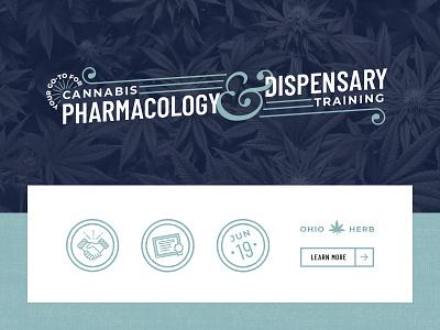 Herball | Assets herb dispensary ohio buttons assets cannabis medical marijuana marijuana weed medical icons typogaphy