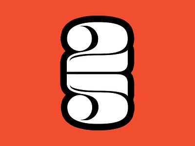 25 type numbers white orange twenty five 25