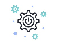 Techie Services Icon - Implement