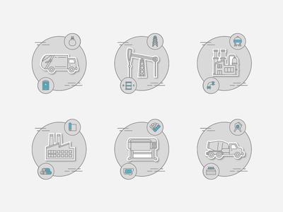 Industrial Markets | Icons 2/2
