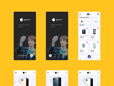 Mobile App app ui ux web design adobe xd