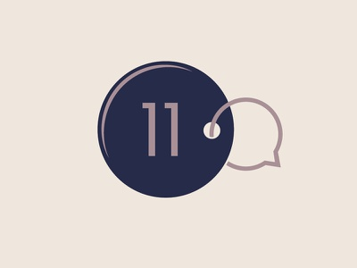Psychotherapy n°11 circle talk purple key chain key eleven psychotherapy therapy speech bubble logo