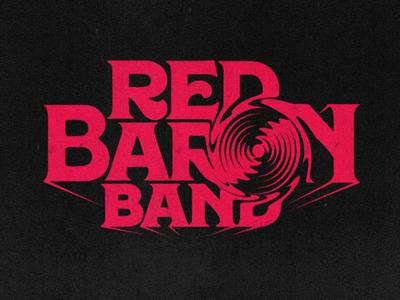 Red baron band logo