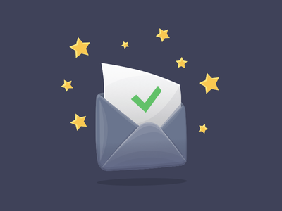 Envelope Icon Freebie sketch app resources illustration freebie free stars envelope icon