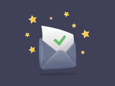 Envelope Icon Freebie sketch app resources illustration freebie free stars envelope icon