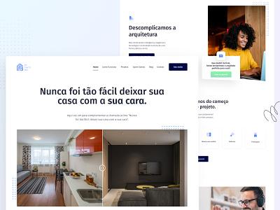 Em Canto Meu — Homepage 👷♀️ app purple typography product design mobile ux design branding minimal icon flat website ux ui design web ui design