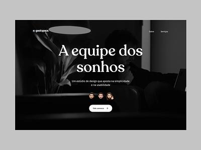 Goatspace — Design e Tecnologia logo minimal icon flat studio agency branding ux design ux design ui design ui
