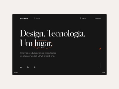 Goatspace — Website minimal ux design ui design ui flat