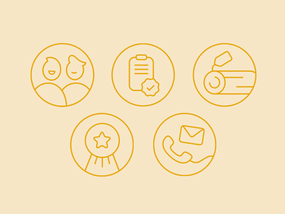 Whole set of icons oneline outlined outlinedicon outline logo icon vector ui illustration design icons