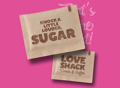 Suagr Packet Pink
