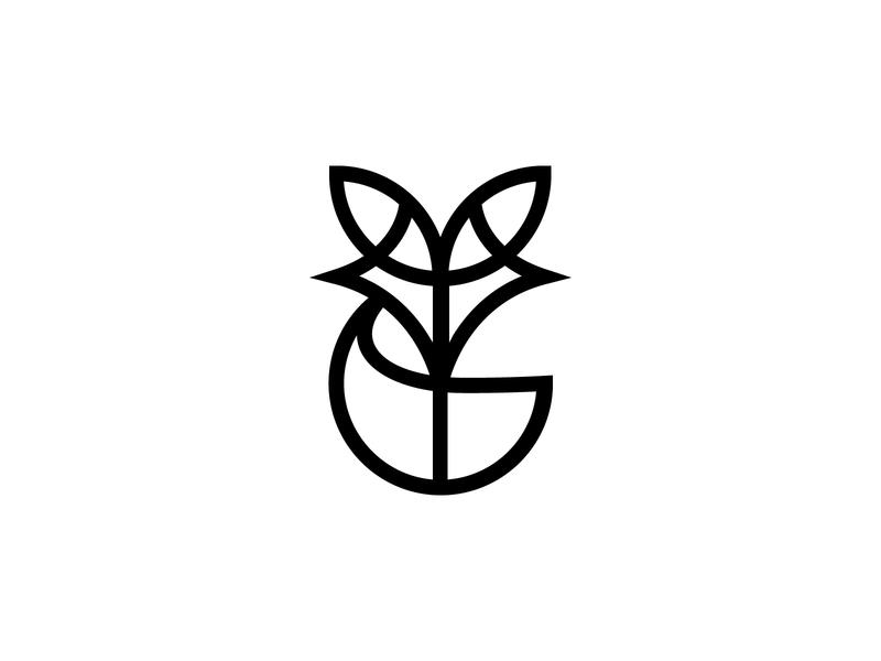 Fox brand simple icon animal logo design logotype fox tail shalamanov minimal line fox logo symbol mark logodesign logomark design identity branding fox