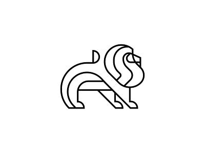 Lion brand identity collab redesign logo redesign logomark geometric simple line logo designer illustration design logos minimal branding mark logo king animal lion