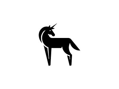 Unicorn uni logo design symbol identity horse animal illustration branding icon mark logo unicorn