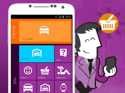Jelou App app jelou icon illustration