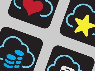 Cloudcollection icon cloud