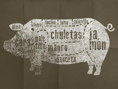 Pork Parts pork pig parts food