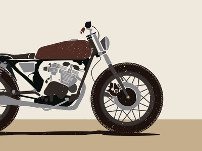 Heiwa brown vector brat bike