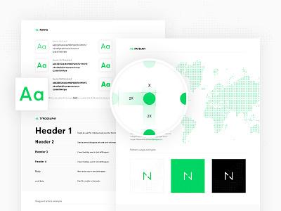 Netguru new CI style guide netguru typography colors green guide ci branding