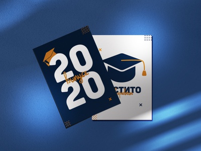 School Graduation Cards lettering typography print design graphic design school graduation cap graduation greeting cards
