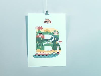 Varna city illustration varna city varna typography illustrator illustration vector graphic design design