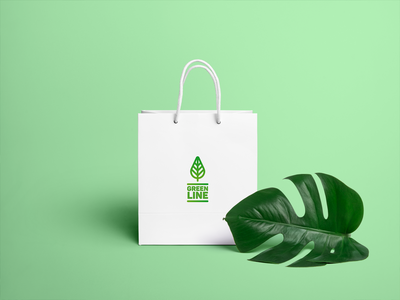 Green Line Bag