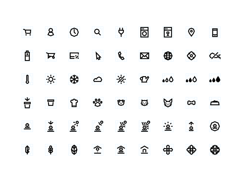 Angle Icon set angle outline nature system icon icon set icon design system design