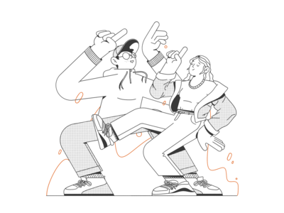 Illustration Time to Dance