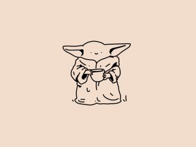 Baby Yoda cute af