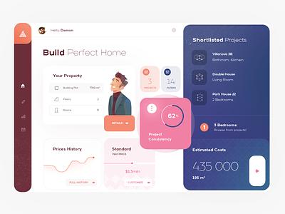 AI architect UI dashboard web dashboard web app dashboard ui
