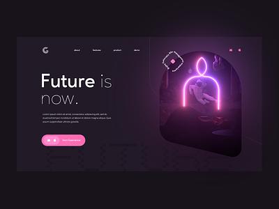 Geo File Managment Website webdesign website minimalism ux ui design