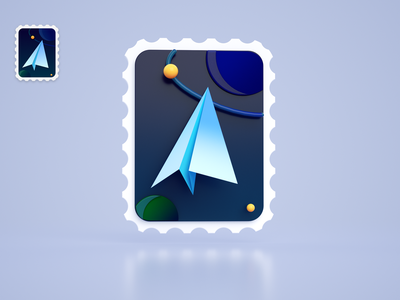 deepin mail ui illustration icon