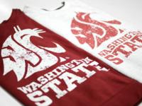 Washington State Printed Shirts