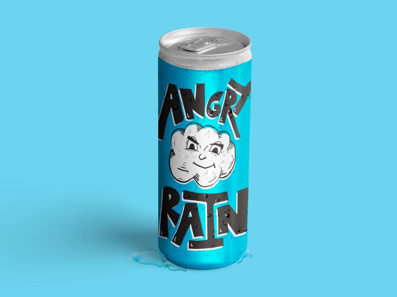 Beverage Design Mockup product design packaging custom type illustration