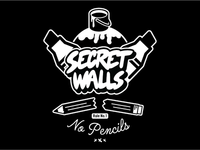 Secret Walls - No Pencils