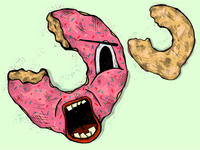 Screaming Doughnut
