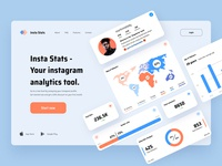 Analytics Dashboard - Landing page