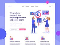 Business Analytics - Web Page