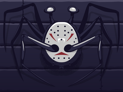 It's a Jason thing... creative brain time spider head the thing friday the thirteenth jason
